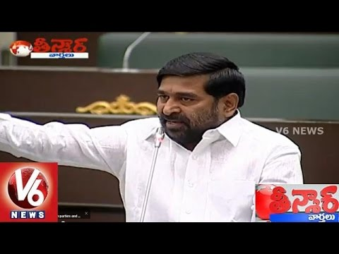 War sessions in Telangana and AP Assembly – Teenmaar News (25-03-2015) Photo Image Pic