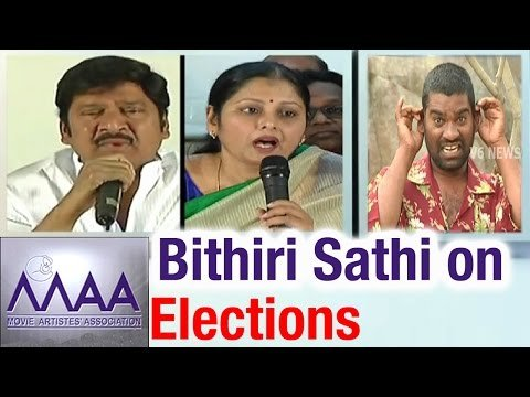 Savitri funny conversation with Bithiri Sathi on MAA Elections – Teenmaar News (25-03-2015) Photo Image Pic