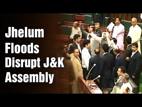Opposition stages walkout from J&K Assembly over floods relief operations | ABN News (31-03-2015) Photo Image Pic