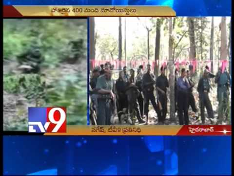 Maoist Plenary on Karimnagar Warangal border, 400 attend
