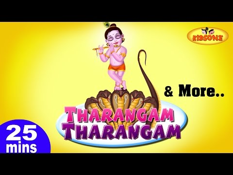 Tharangam Tharangam & More Telugu Nursery 3D Rhymes | 25 Minutes Compilation from KidsOne