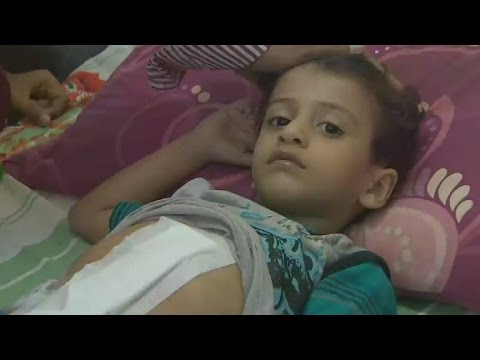 Reporter finds chaos and desperation at Yemeni city