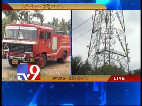 Man climb cell tower demands special status to AP – Tv9