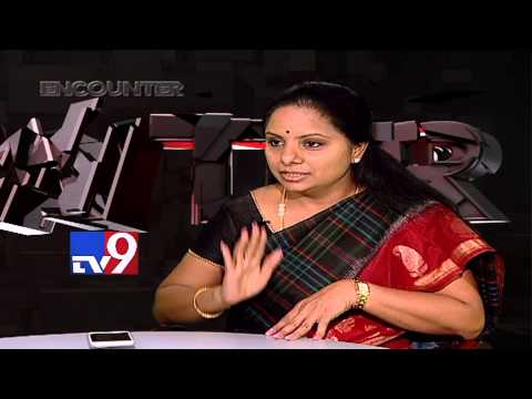 Murali Krishna's Encounter with TRS MP Kavitha