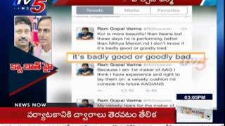 """ KCR is More Beautiful than Ileana "" RGV Controversy Comments Photo Image Pic"