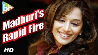 BH Exclusive : Rapid Fire With Madhuri Dixit