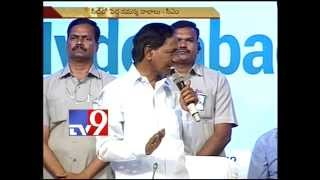 No more TRS posters in Hyderabad – KCR – Tv9