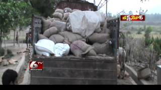 Wild Elephant Attacking a Lorry in Srikakulam – Once MOre – 6 TV Telangana