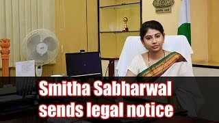 IAS Officer Smita Sabharwal sent legal notice to Outlook News Magazine Photo Image Pic