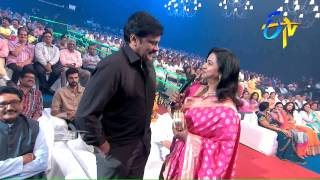 Megastar Chiranjeevi and Radhika in ETV @ 20 Years Celebrations - 23rd August 2015