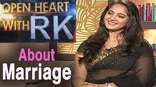 Anushka Shetty about Rumours and Marriage