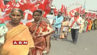Inside | Vizag Brandix Workers Demand Wages (28-04-2016)